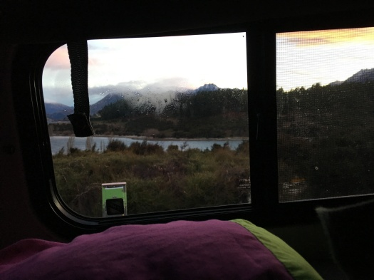 Morning Views from the Van