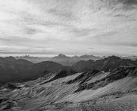 Rocky Mountains near Mont Blanc