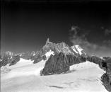 Snow on Mont Blanc