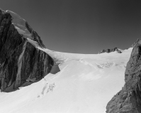 Mountaineers on Mont Blanc